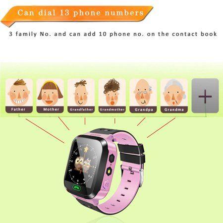 Hot Selling Upgraded Smart Watch Kids Wristwatch touchscr