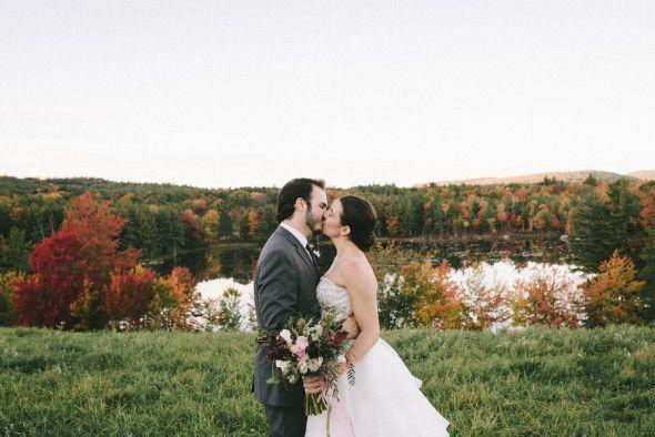 New England Fall Wedding Inspiration - Rustic Wedding Chic