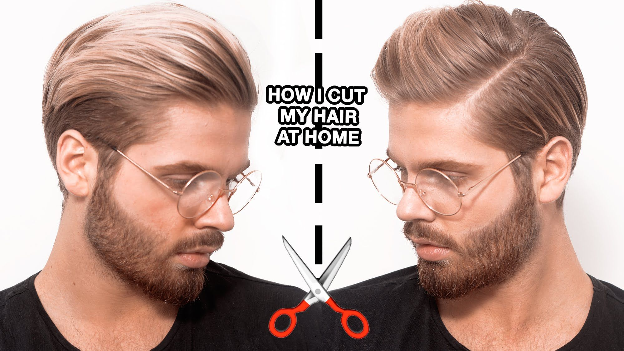 How I Cut My Hair At Home By Myself Hair And Makeup Pinterest