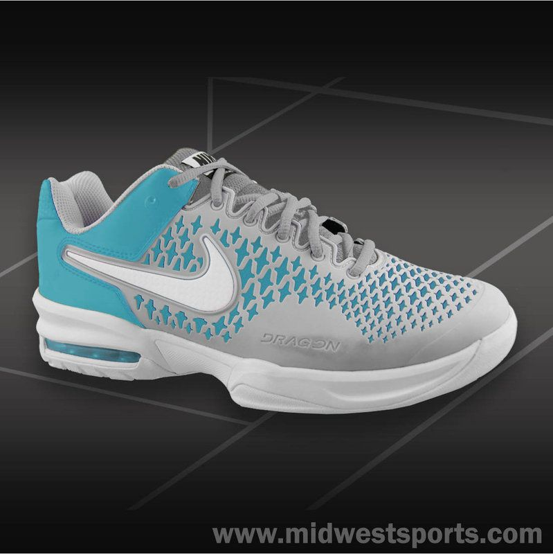 Nike Air Max Cage Women's Tennis Shoe (# 554874 410) Gamma