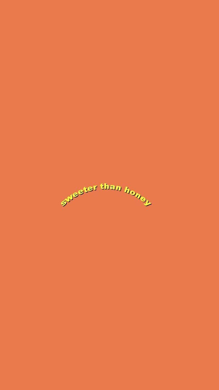 Pinterest Carmen Pastor In 2019 Orange Wallpaper Words