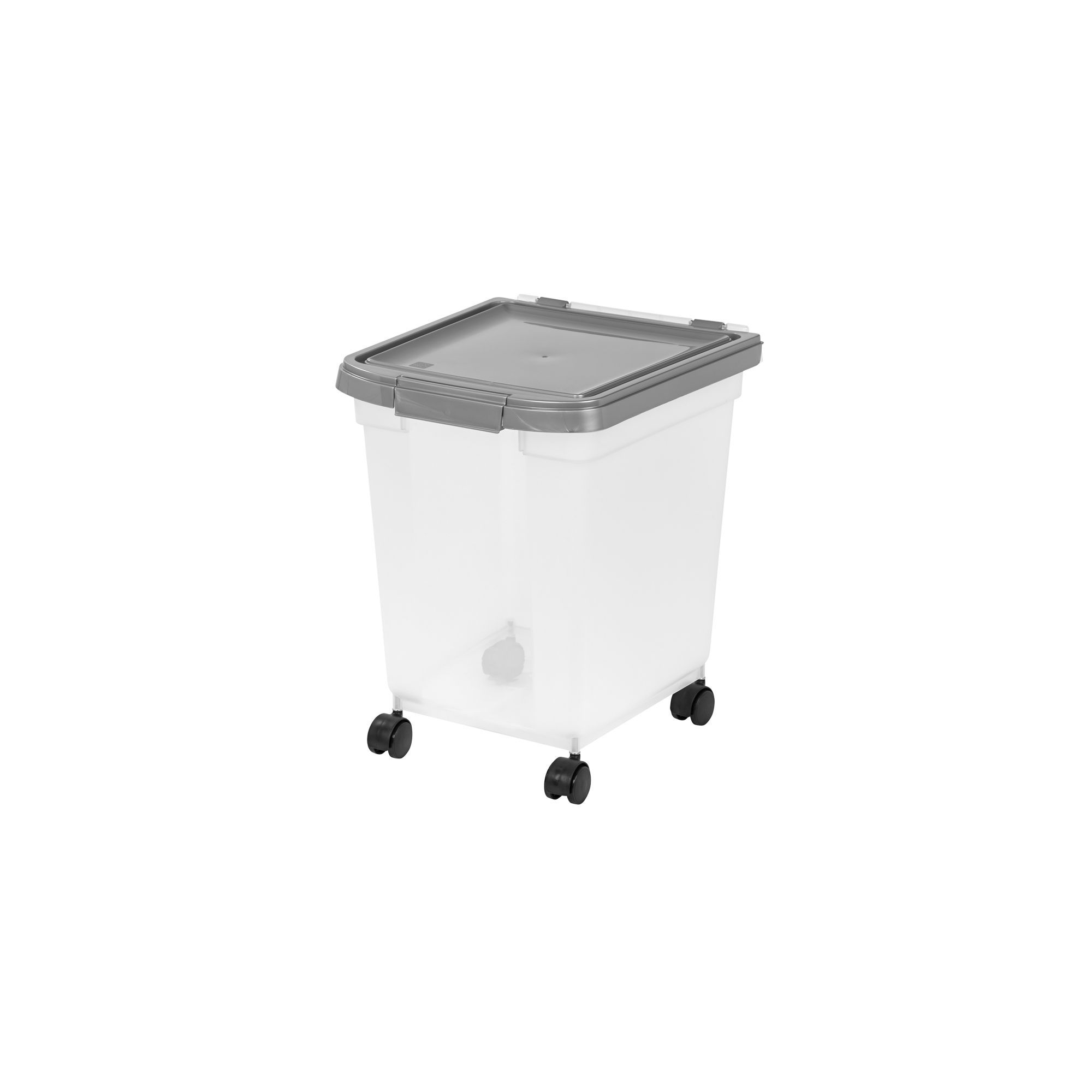 Top Paw Airtight Pet Food Storage Container Size 32 5 Qt Clear