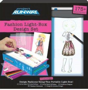 Fashion Angels Project Runway Travel Fashion Design Light Box Fashion Angels Travel Style Design