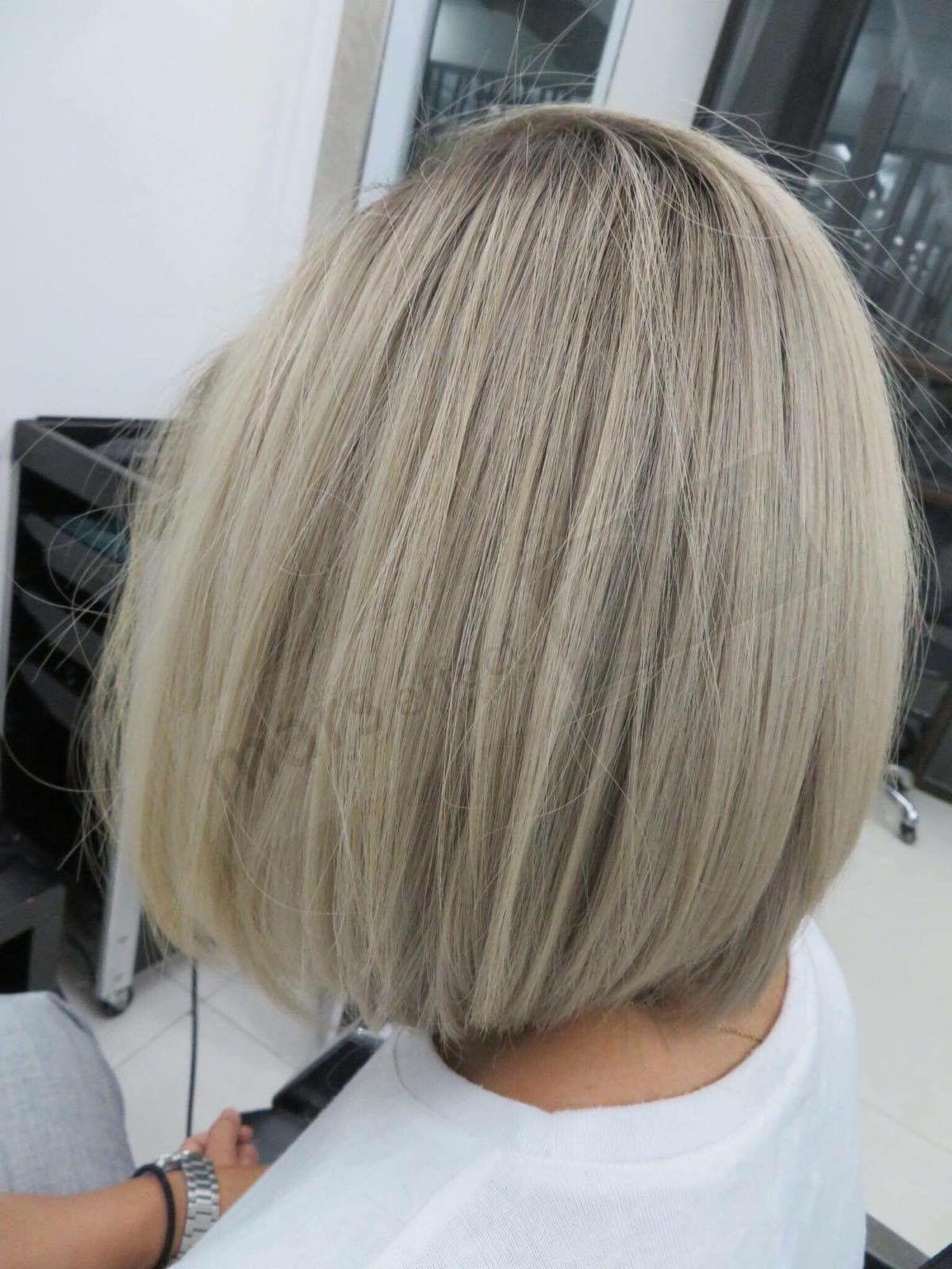 Manilasalon balayage ombré rebond cut u color hair