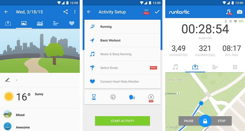 10 Best Fitness Apps for Android Wear Smartwatches Basic