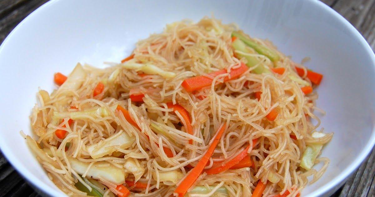 Filipino Pancit Pancit, Recipes, Asian dishes
