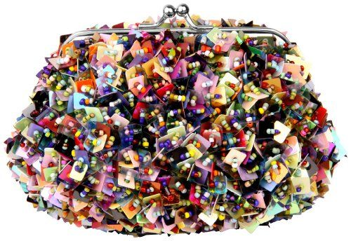 Grab this little super affordable gem of a purse with colorful beads and sequins.  Carry to all your events and parties