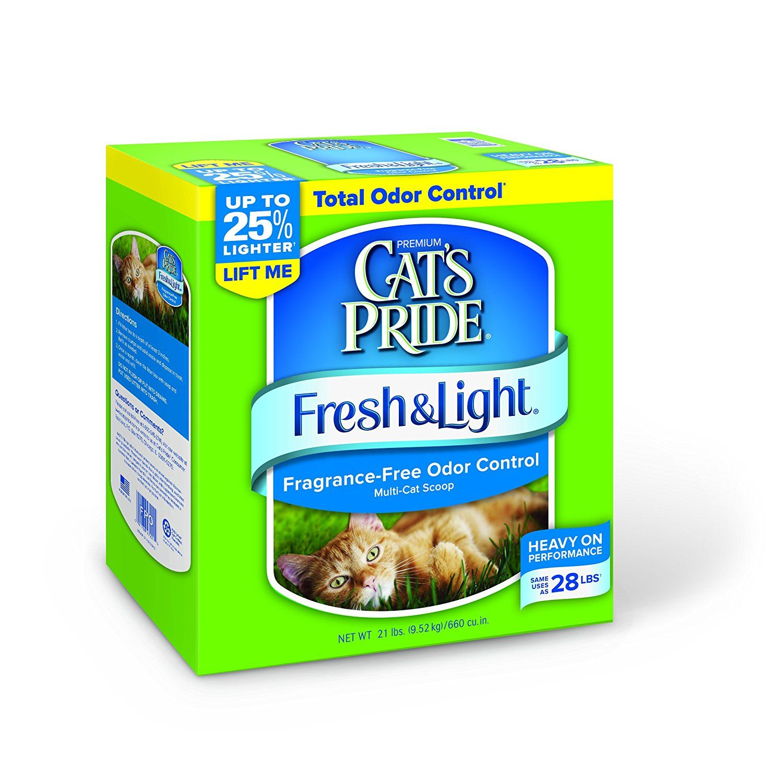 Cat S Pride Fresh And Light Premium Fragrance Free Scoopable Cat Litter Startling Review Available Here Fragrance Free Products Cat Litter Best Cat Litter