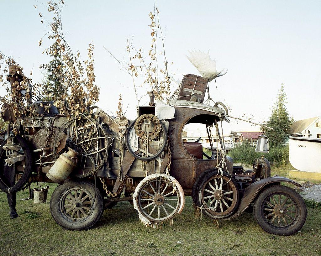 Old Alaskan Transportation