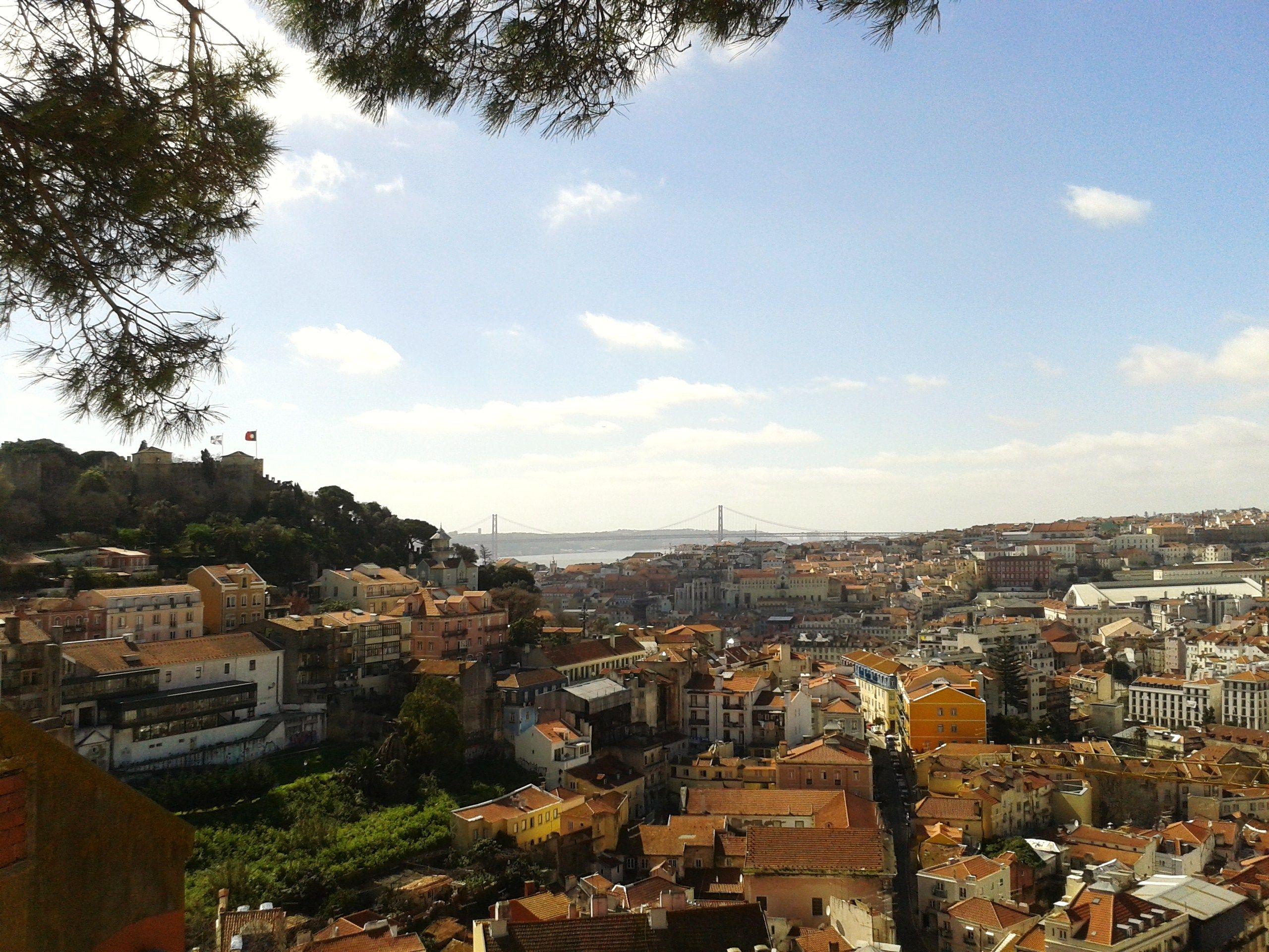Panorama Lisboa, Portugal.