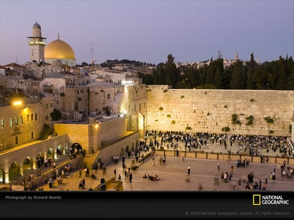 Western Wall, Jerusalem. I have been and I have prayers in that wall <3