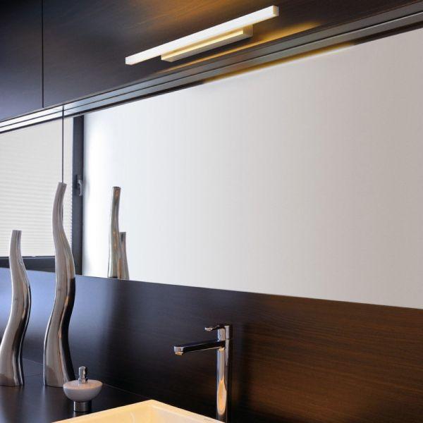 Glenos Spiegelleuchte, LED, 3000K, warmweiß Badleuchten Pinterest - badezimmer led deckenleuchte ip44