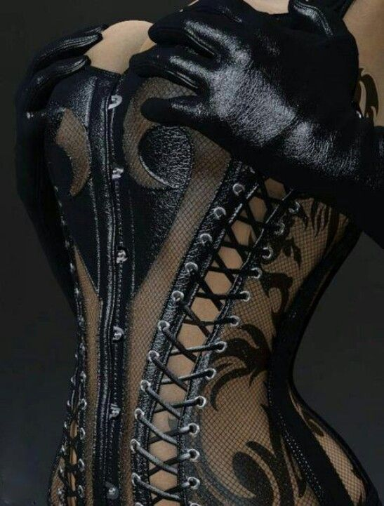 Tattoo adds to corset