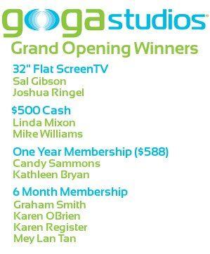 Grand Opening Winners!