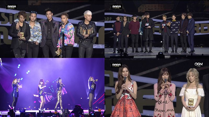 Live Recap The 2015 Mnet Asian Music Awards Mnet Asian Music Awards Bigbang Music Awards