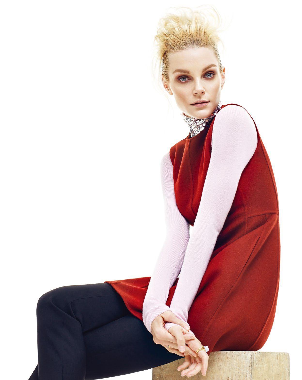 Jessica Stam for Saks Fifth Avenue Catalog