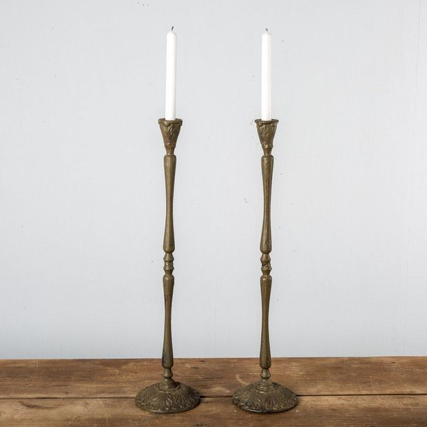 The 13 Best Home Decor Pieces From Magnolia Market Domino Candle Holders Magnolia Market Decor Candlestick Collection