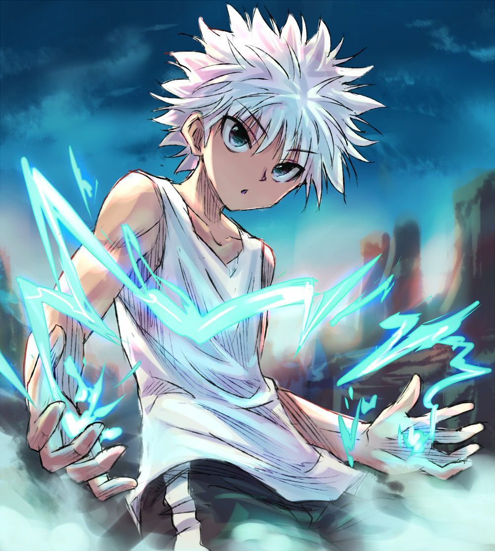 Killua Hunter X Hunter Anime Personagens De Anime Anime Luta