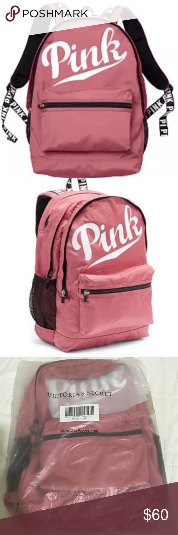 0d7e32b72d93 Vs Pink Soft Begonia Backpack- Fenix Toulouse Handball