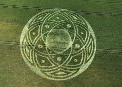 Crop Circle at Honey Street Wiltshire UK Reported on the 6th of July 2009 !