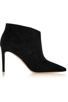 Gianvito Rossi Suede ankle boots | NET-A-PORTER