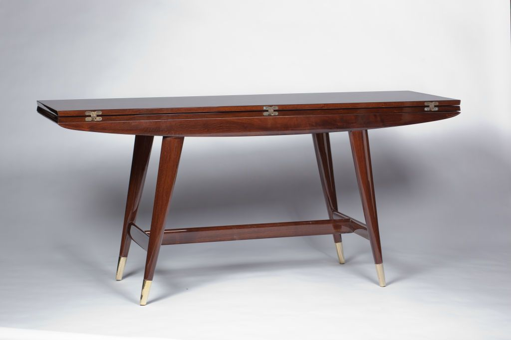 Gio Ponti Convertible Console Dining Table Image 5