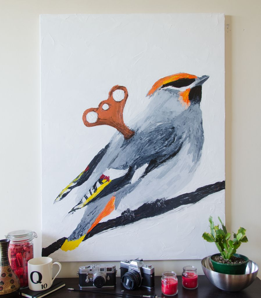 acrylic bird painting - Google Search