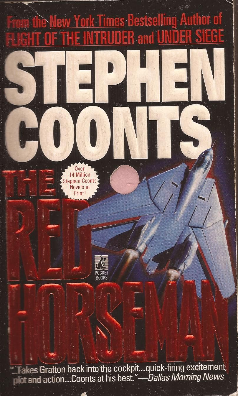 The Red Horseman By Stephen Coonts Pocket Books Book Authors Novels