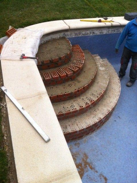 Construcci n de piscinas iguaz de escalera f cil acceso a for Construccion de piscinas en altura