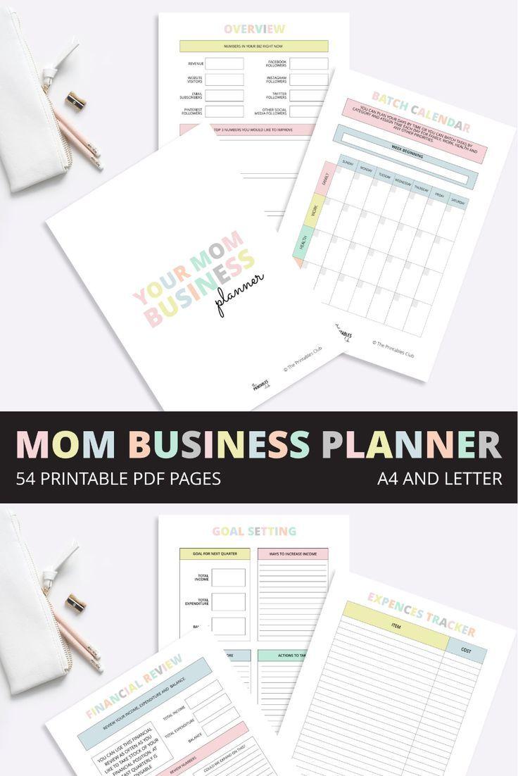 Mom Business Planner, Mum Business Planner, Business