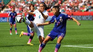 Blog Esportivo do Suíço:  Golaço contra de cobertura classifica Japão para final do Mundial feminino