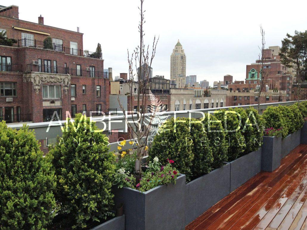 Nyc Upper East Side Terrace Garden