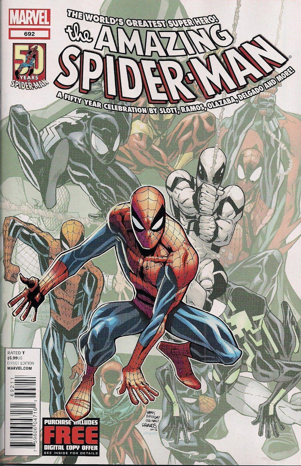 Cover To Amazing Spider Man 692 Amazing Spiderman Heros Marvel Marvel Comics