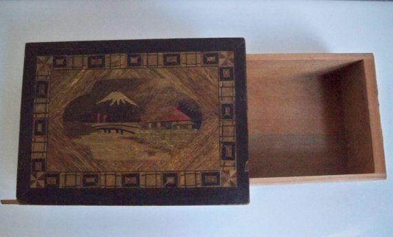 Himitsu Bako Personal Secret Puzzle Box by VoltaVintage on Etsy, $45.00