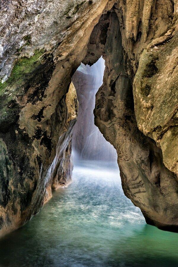 Water cave in Jaen Agularia