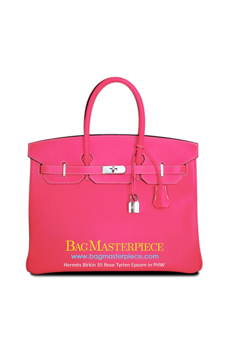 79e2c70a037 Hermes Birkin Size 35 in Rose Tyrien featuring PHW in Epsom Leather ...