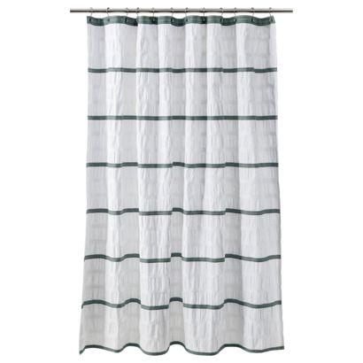 ThresholdTM Seersucker Shower Curtain
