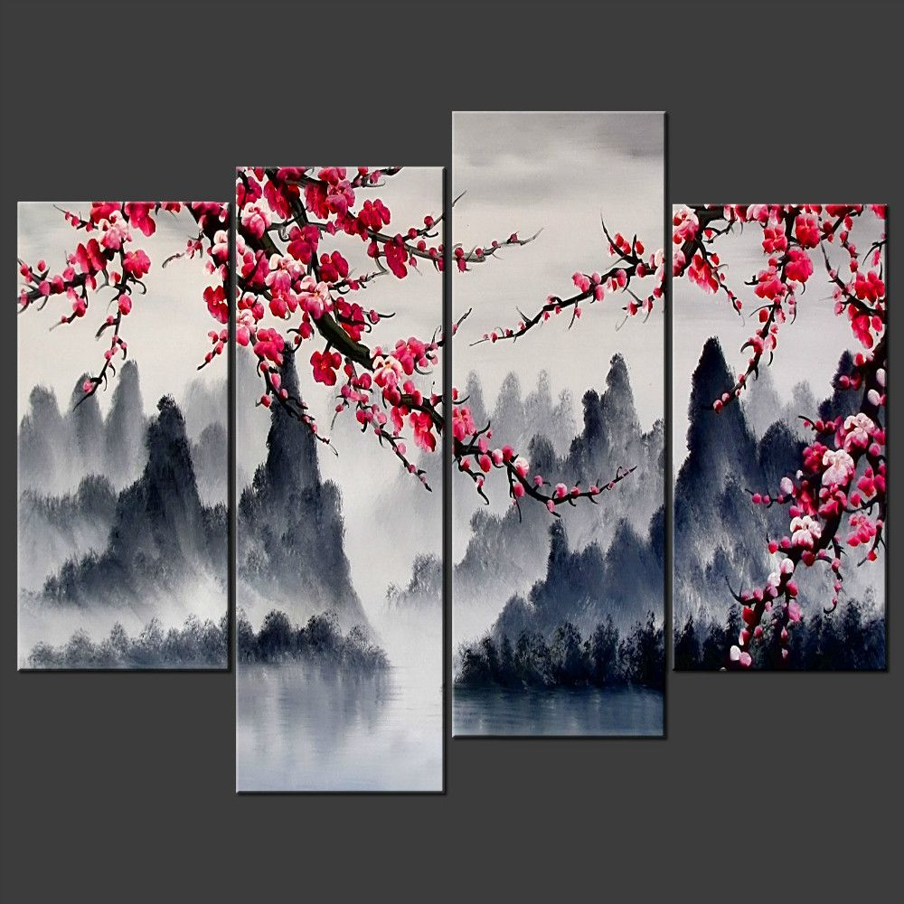 Compare Prices On Decorative Wall Interior Painting Online Shopping Buy Low Price Decorative Wall Interior P Chinese Wall Art Asian Wall Art Wall Art Painting