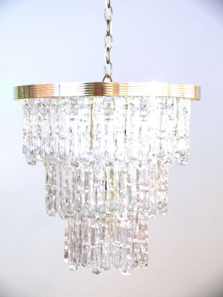 Tiered lucite icicle chandelier pinterest chandeliers living tiered lucite icicle chandelier aloadofball Gallery