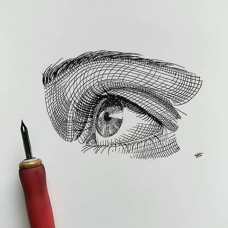 Art Featuring Page On Instagram Eye Or Hand Art Nights