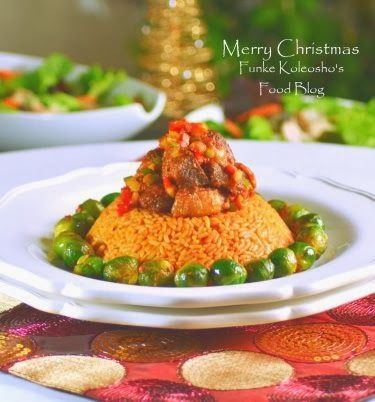 funke koleosho s food blog christmas lunch jollof rice turkey brussels