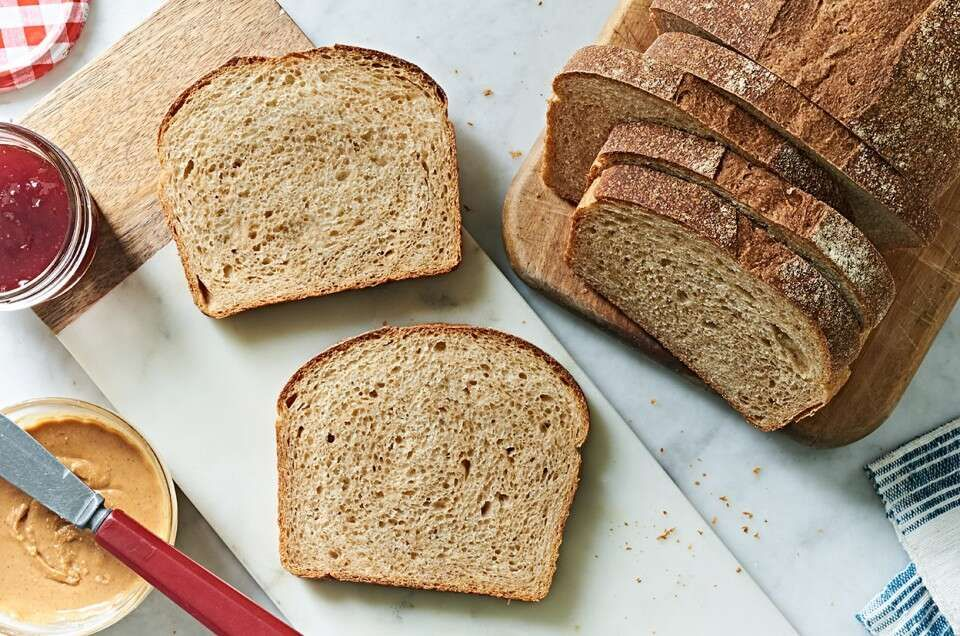 Just Bread Recipe In 2020 Sandwich Bread King Arthur Flour Bread