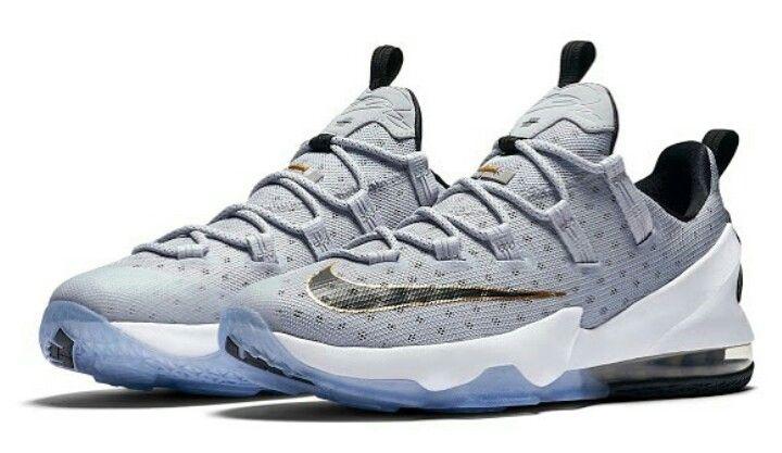 1e3ac1ffb6519 Nike LeBron 13 low + Cool Grey