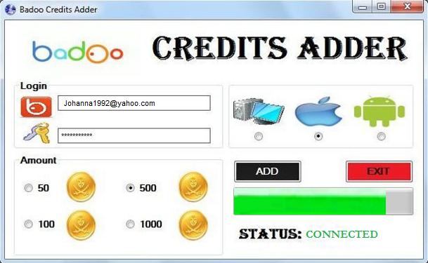 Badoo Credits Adder Generator Gaming Tools for Real