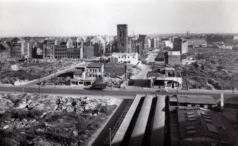 Hannover Vahrenwalder Strasse In Trummern Nach Dem Zweiten Weltkrieg