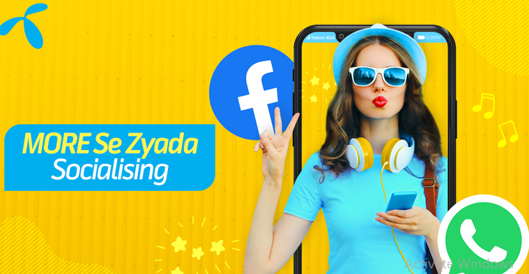 Now Socialize With Telenor Monthly Social Pack In 2020 Social New Technology Reading Recommendations