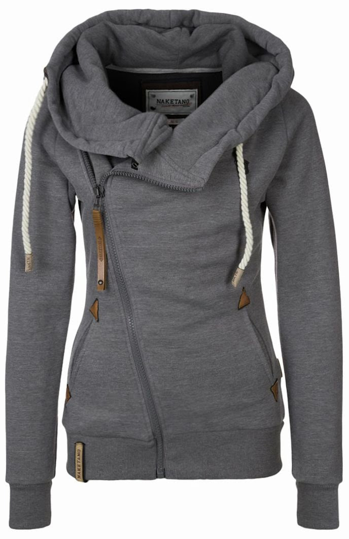 Lovable Fashion  Beautiful Grey Womens Hoodie...I want this  fashion   beautiful  pretty a9e2b8e119