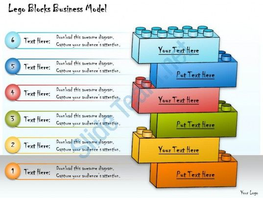 1013 business ppt diagram lego blocks business model powerpoint ...