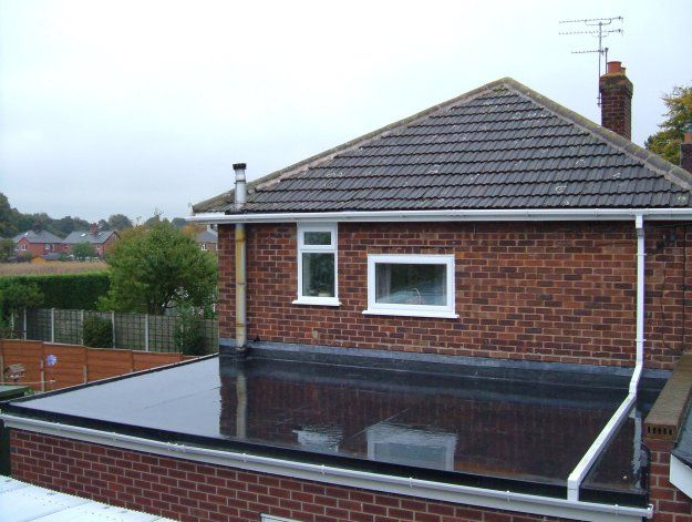 Pin En Flat Roofs