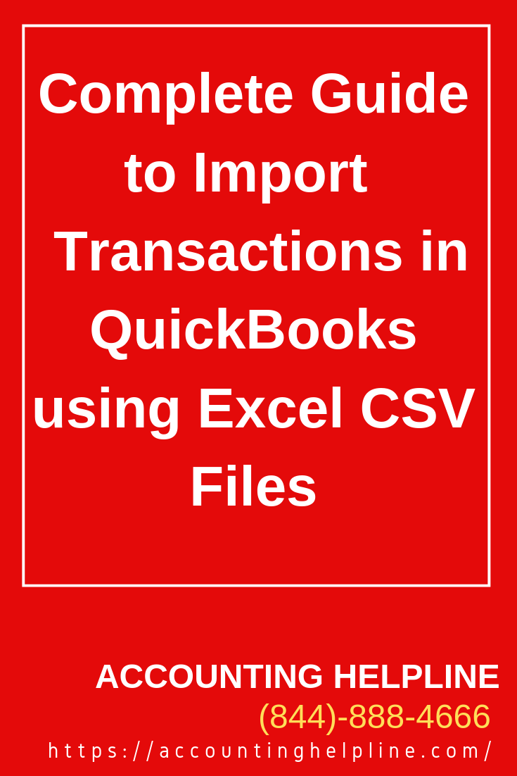 Complete Guide to Import Banking Transactions in QuickBooks